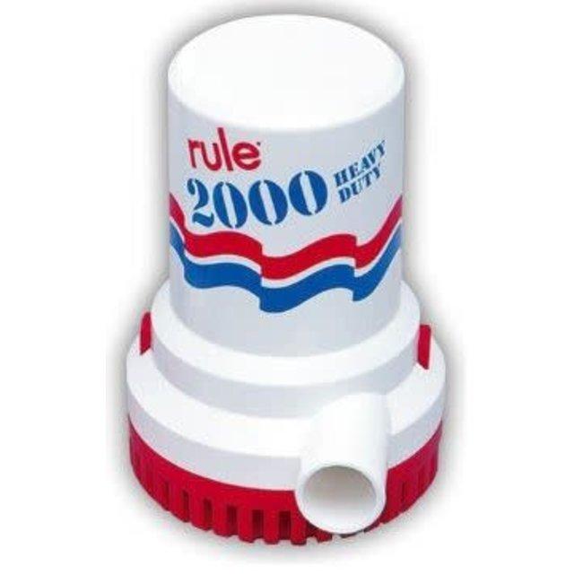 Rule Bilge pump 2000 Model 10