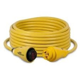Marinco Power Cord EEL 30 Amp 50' Yellow