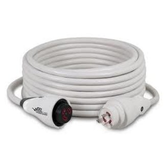 Marinco Power Cord EEL30A/127V White 50 ft.