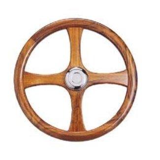 """Victory Wooden Steering Wheel 18"""""""
