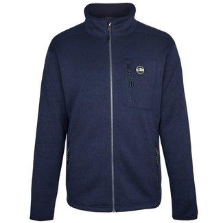Gill Knit Fleece Jacket Navy