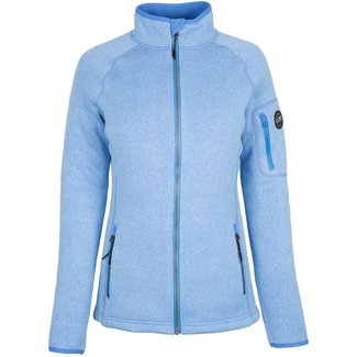 Gill Knit Fleece W L/Blue Jacket