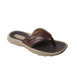 Sperry Outer Banks Thong Dark Brown (In Stock Only)