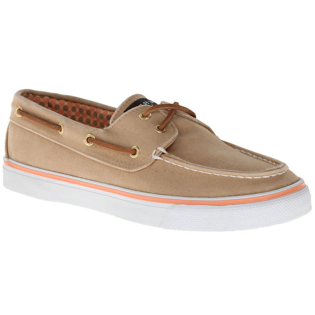 Sperry Bahama 2 Eye Canvas Sand (In Stock Only)