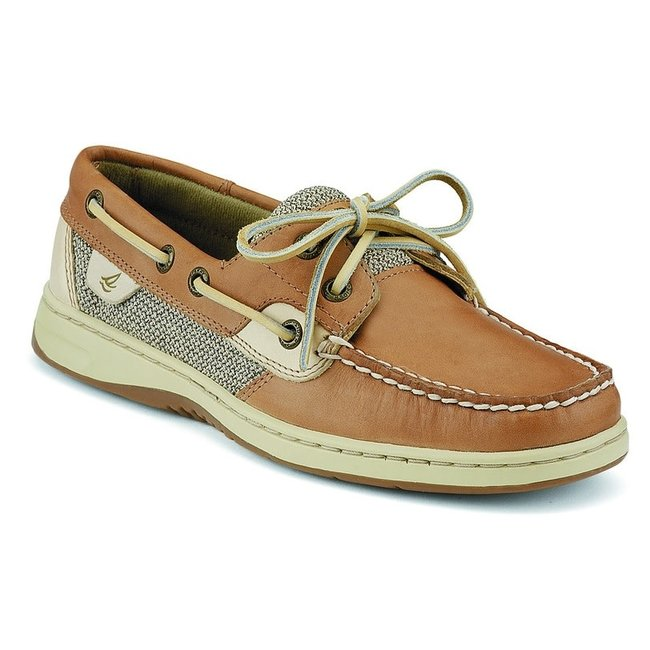 Sperry Bluefish 2 Eye Linen (In Stock Only)