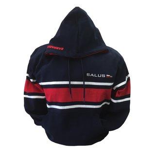 Salus Hoodie Navy/Red