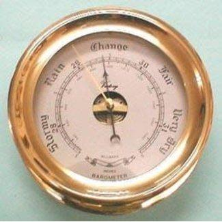 Rekord Barometer 6`` Plain Bezel