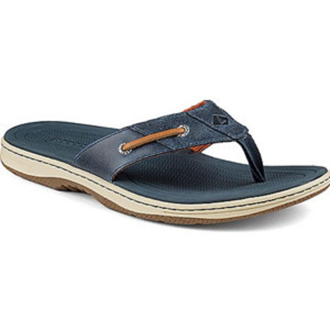 Sperry Baitfish Thong Navy (In Stock Only)
