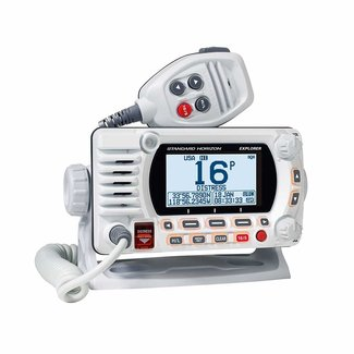 Standard Horizon VHF 25W GPS N2K White