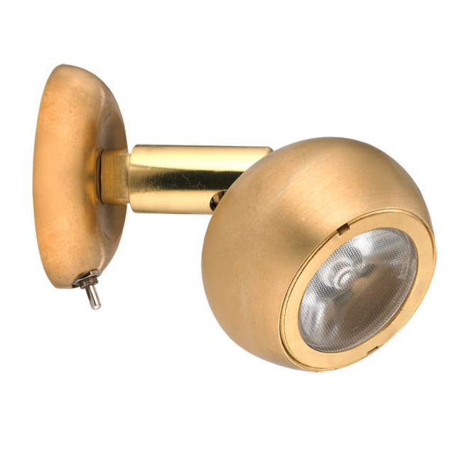 Victory Brass Reading Light with Switch