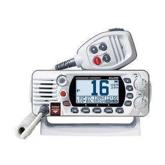 Standard Horizon VHF 25W  White Fixed Mount w/GPS