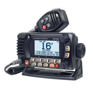 Standard Horizon VHF 25W Black Fixed Mount