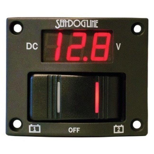 Sea-Dog Battery Test Switch Panel LED