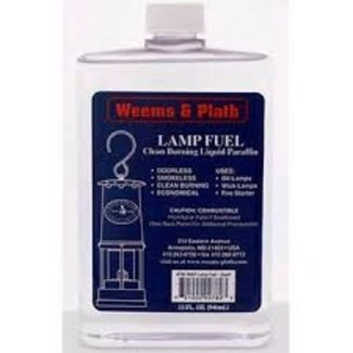 Weems & Plath Lamp Oil Fuel 32 fl oz