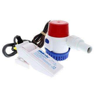 Rule 12v 500 GPH Bilge Pump and Switch Combo