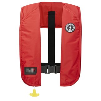 Mustang Inflatable Manual MIT Red