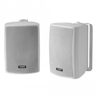 """Fusion Fusion 4"""" 100W Box Speakers Wht Pr"""