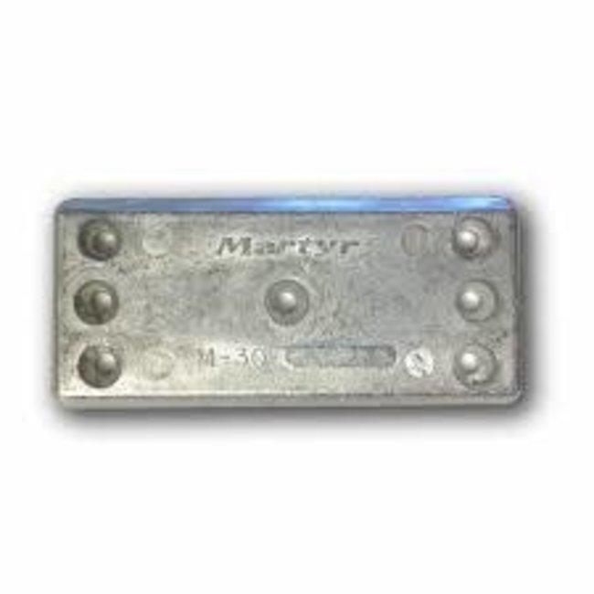 Canada Metal Plate 6 1/4 x 2 3/4