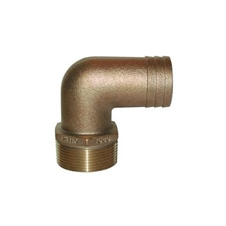 """Groco Hose Adapter 11/4""""pipe to 11/8"""" Barb"""