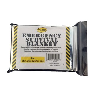 """Firstaid Thermal Survival Blanket 52""""x 84"""""""