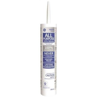 Compound Int/Ext. White Silicone 300ml