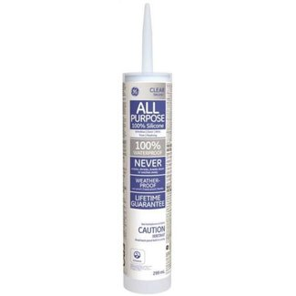 Compound GE Int/Ext. Clear Silicone 300ml