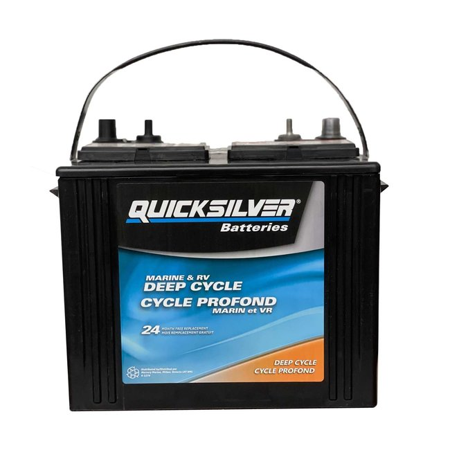 Quicksilver Battery Deep Cycle 24 150 RC