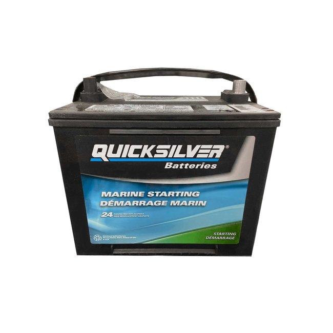 Quicksilver Battery 650 MCA Starting
