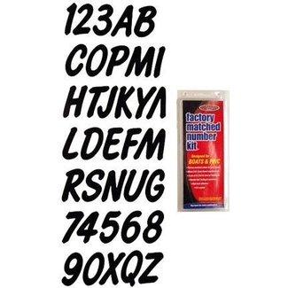 Hardline Series 400 Reg Kit Solid Blk