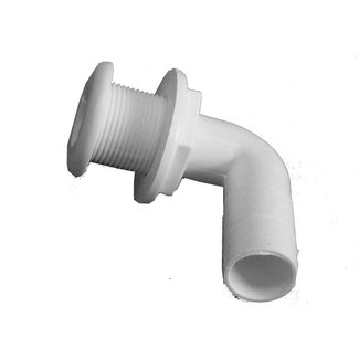 TH Marine Thru Hull 1 1/8 Plastic Elbow 90°