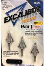 Excalibur Crossbows EXCALIBUR CROSSBOW BOLTCUTTER BAT BROADHEADS 150 GR