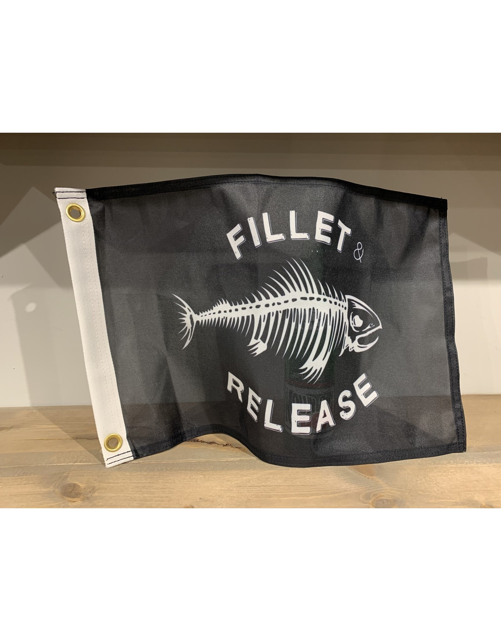 """FLAGS UNLIMITED FILLET & RELEASE FLAG 12""""X18"""""""