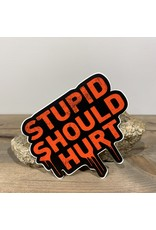 PRO STUPID SHOULD HURT CLASSIC DECAL