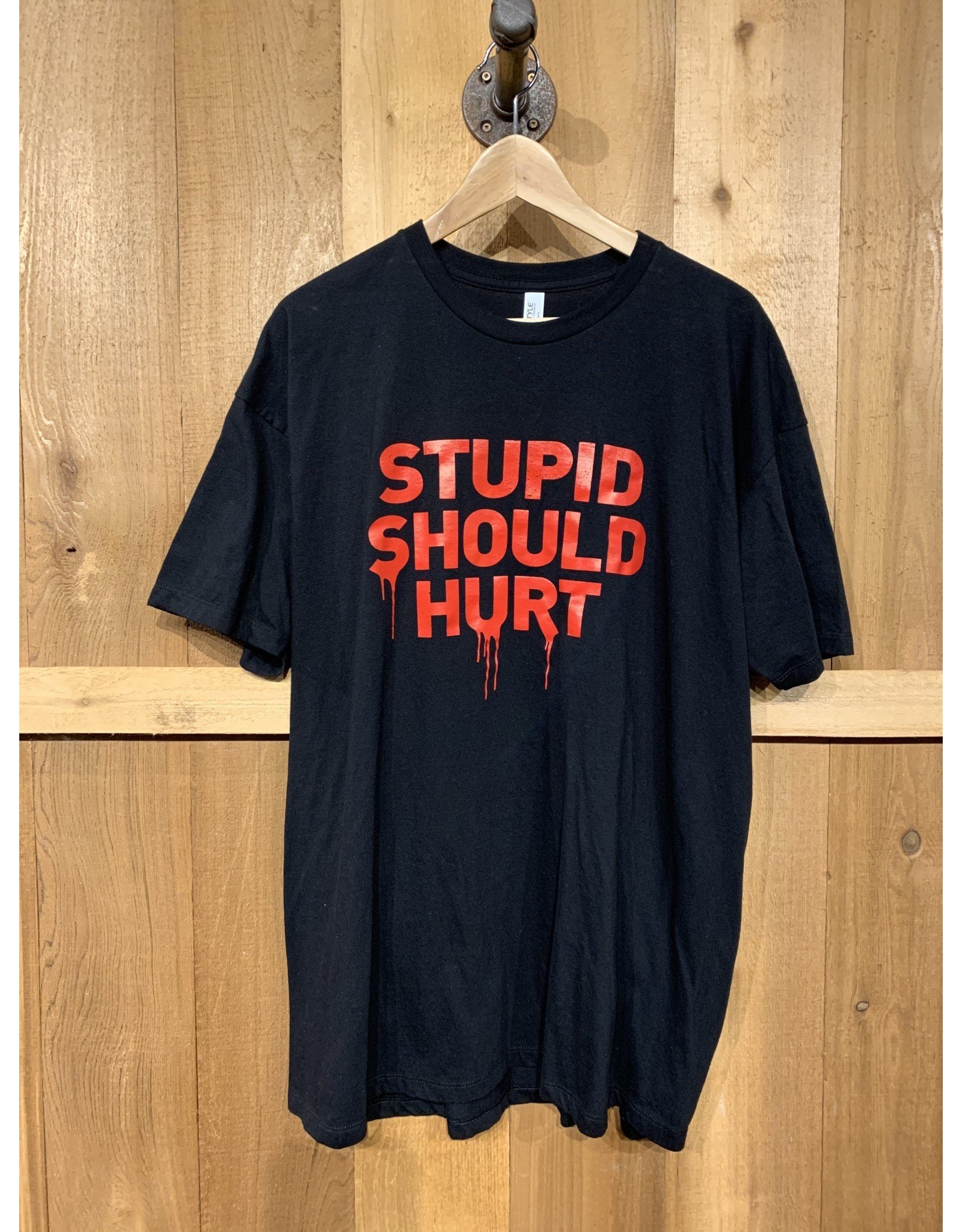 PRO STUPID SHOULD HURT T-SHIRT