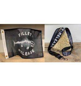 FILLET & RELEASE FLAG & KEYCHAIN COMBO