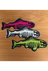 PRO MEDIUM FILLET & RELEASE FISH DECAL