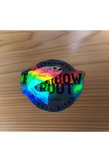 PRO RAINBOW TROUT HOLOGRAM DECAL
