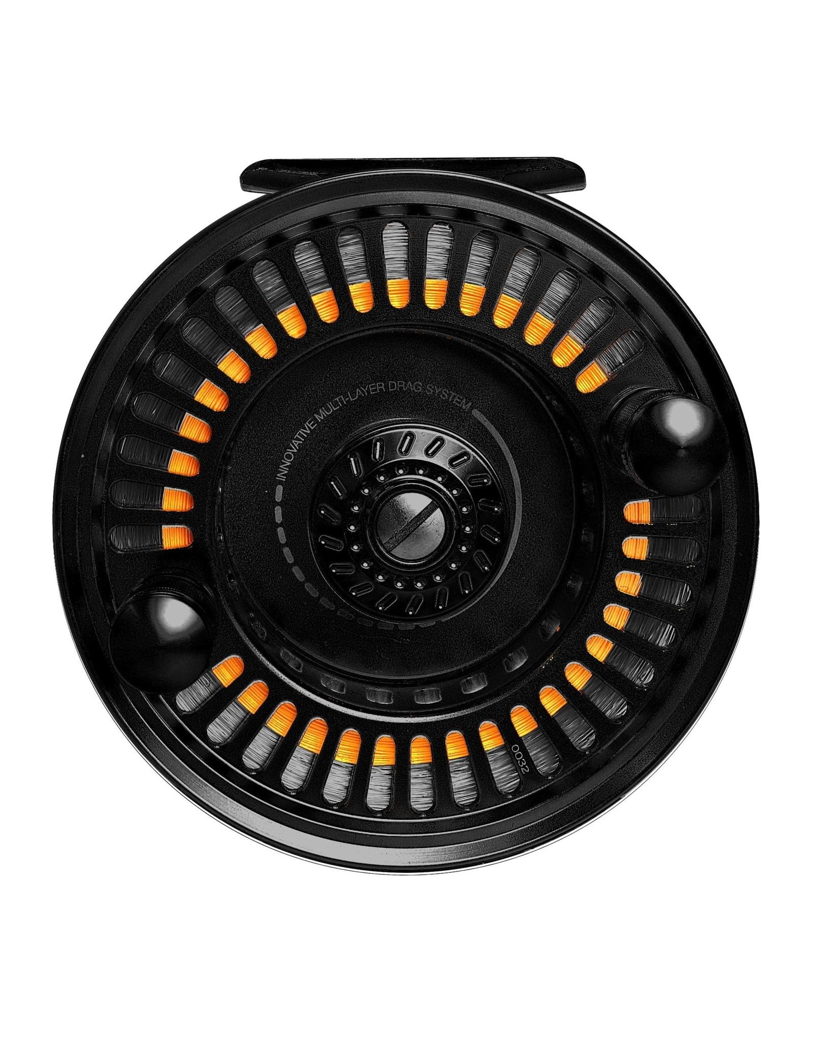 AMUNDSON TREND X5 MOOCHING REEL, Black color