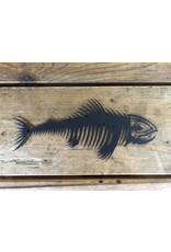 PRO LARGE FISH BONES DECAL