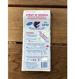 FISH-N-MAP COMPANY, INC. FISH-N-MAP FOR GEORGIA STRAIT
