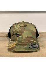 FILLET & RELEASE FILLET & RELEASE SNAPBACK CAP Camo/Black