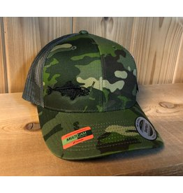 FILLET & RELEASE FILLET & RELEASE SNAPBACK CAP Camo/Green