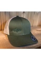 FILLET & RELEASE FILLET & RELEASE SNAPBACK CAP Green/Tan