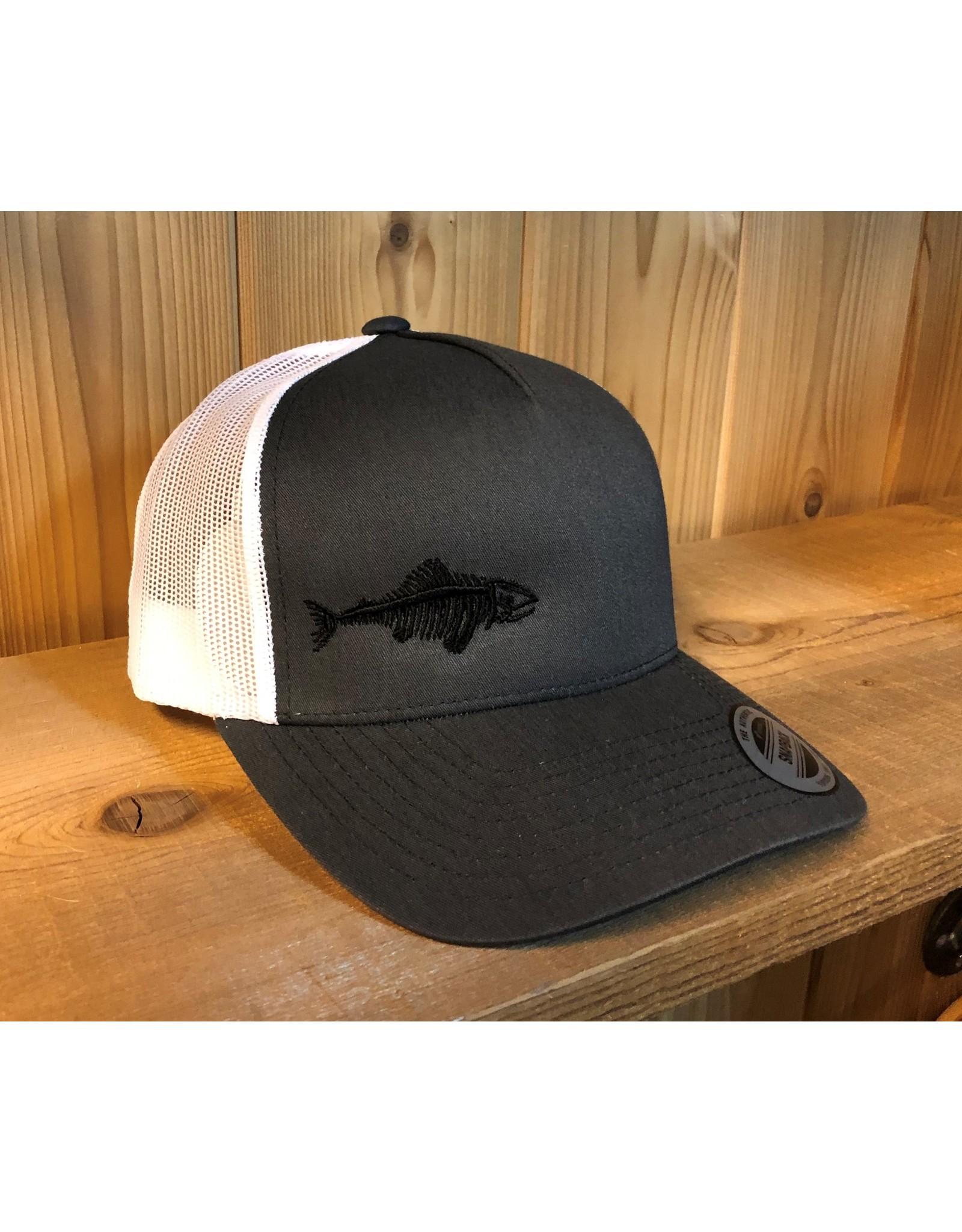 FILLET & RELEASE THE ORIGINAL FILLET & RELEASE SNAPBACK CAP Grey/White