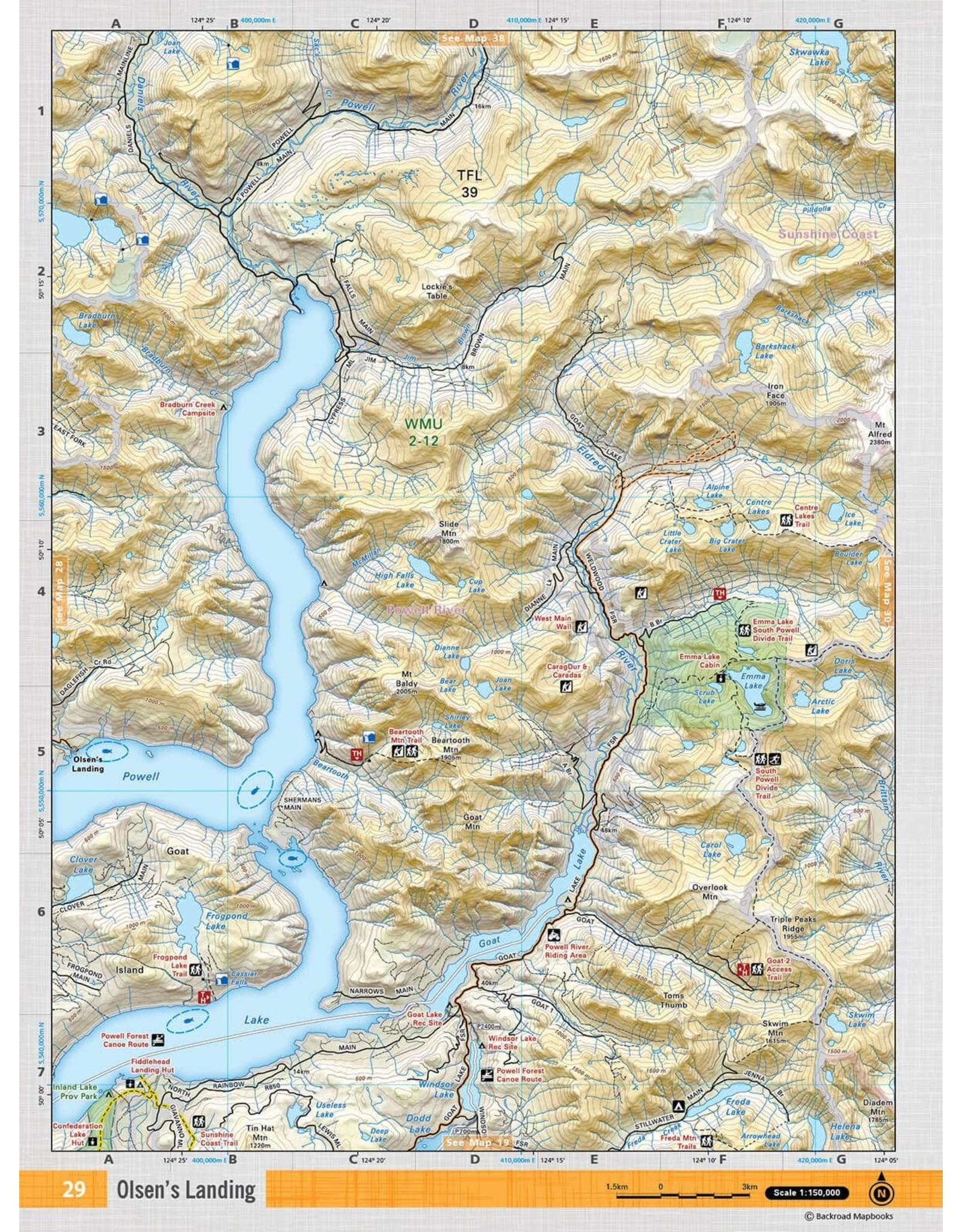 BACKROAD MAPBOOKS BRMB - VCBC29 - OLSENS LANDING