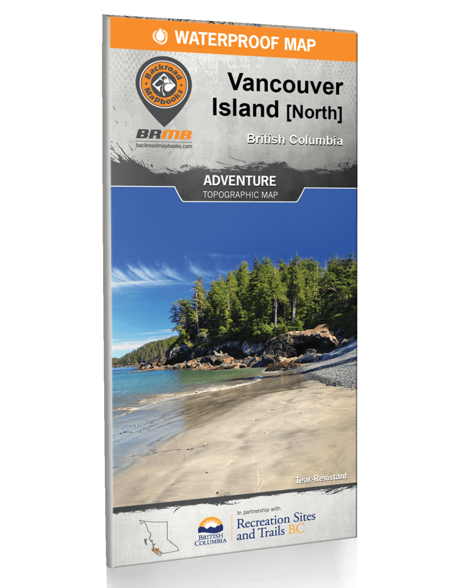 BACKROAD MAPBOOKS BRMB - VANCOUVER ISLAND NORTH