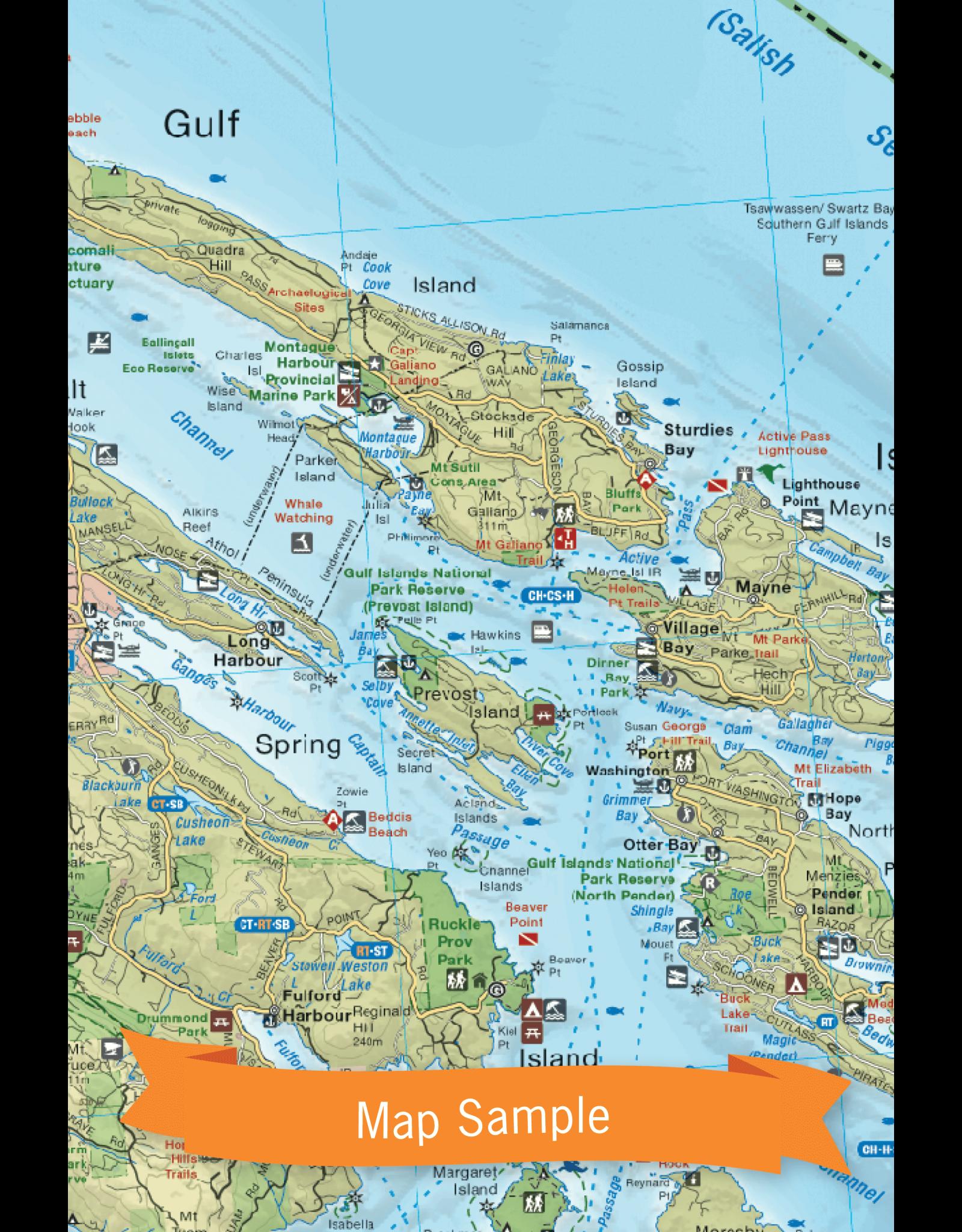 BACKROAD MAPBOOKS BRMB - VANCOUVER ISLAND SOUTH
