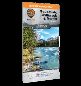 BACKROAD MAPBOOKS BRMB - SQUAMISH, CHILLIWACK, MERRITT BC
