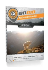 BACKROAD MAPBOOKS BRMB - KOOTENAY ROCKIES BC 8TH EDITION #KRBC