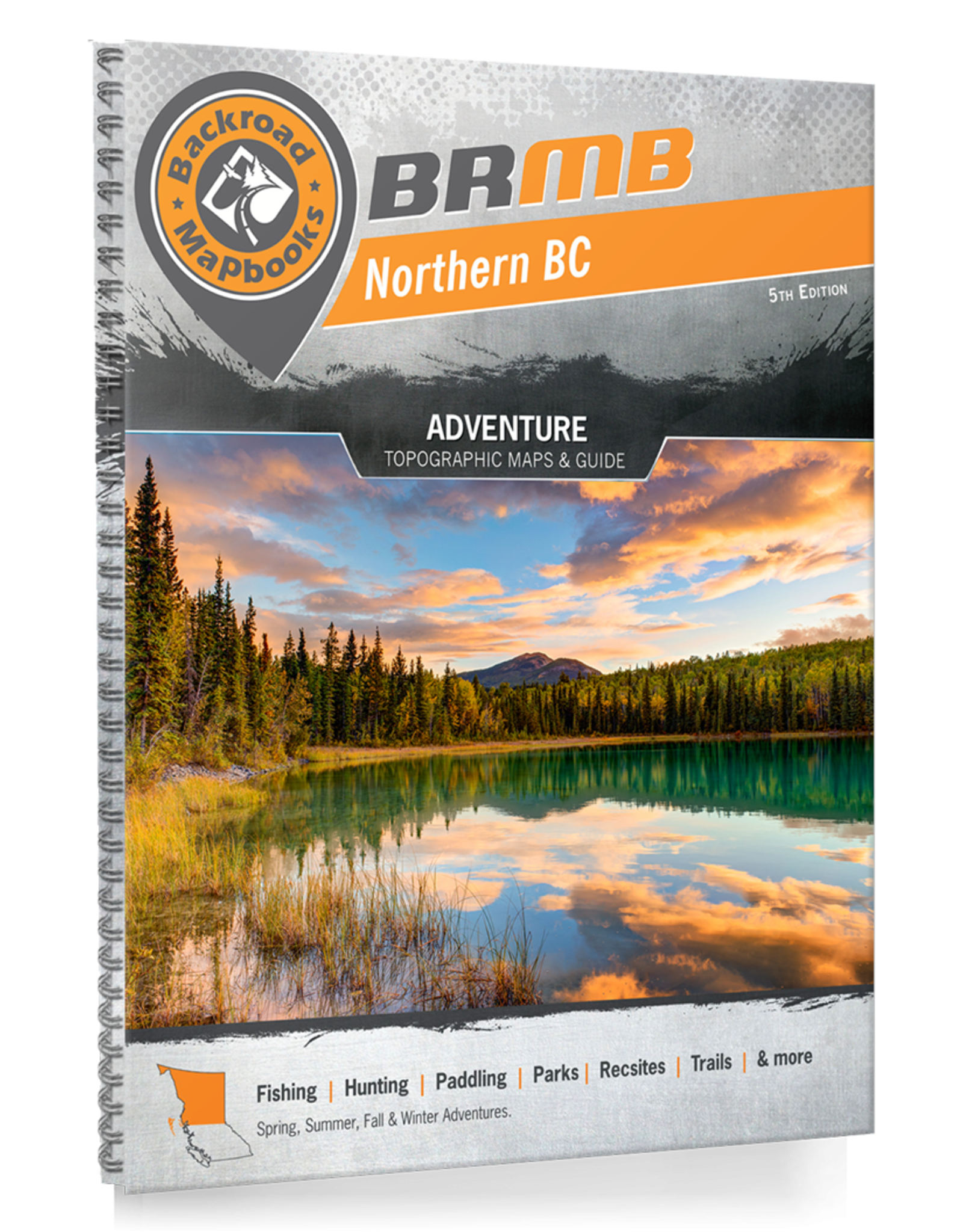 BACKROAD MAPBOOKS BRMB - NORTHERN BC 5TH EDITION #NOBC